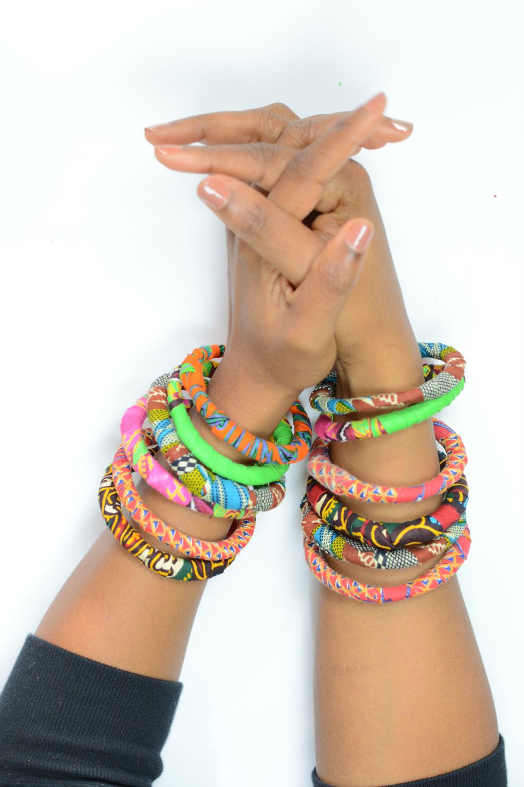 ankara bracelets