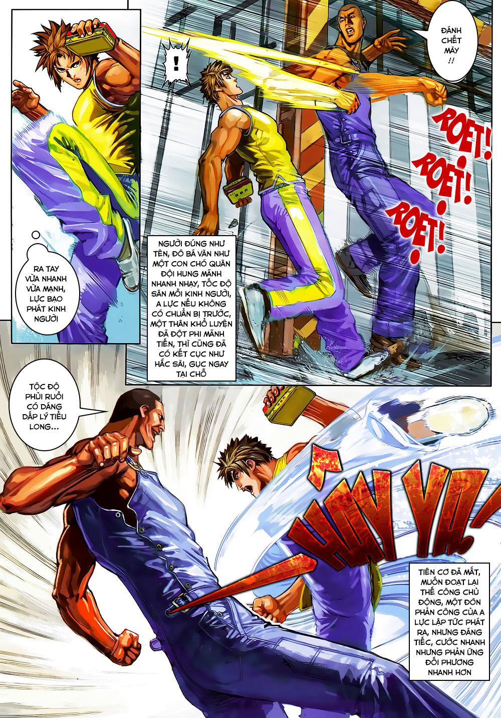 Quyền Đạo chapter 2 trang 11