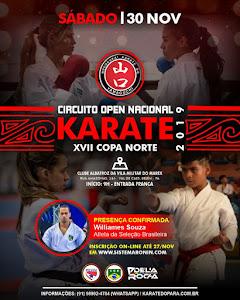 Open Nacional 17ª Copa Norte de Karate