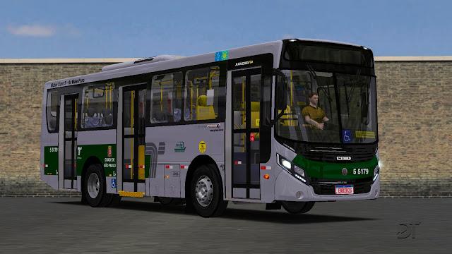 OMSI 2 - Caio Apache VIP IV Volksbus 15.190 OD e 17.230 ODS 9 metros padrão SP