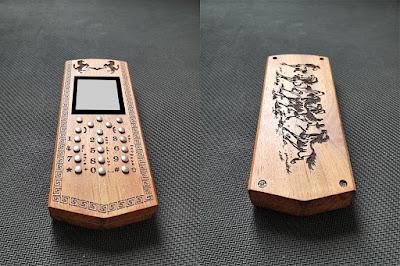 vỏ gỗ điện thoại 1110i
