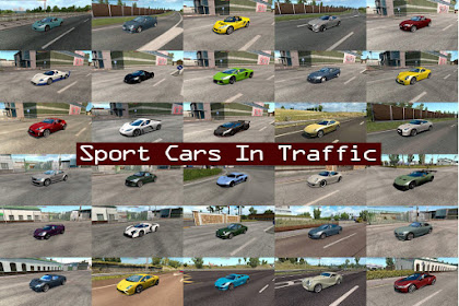 Sport Cars Traffic Pack by TrafficManiac v3.4