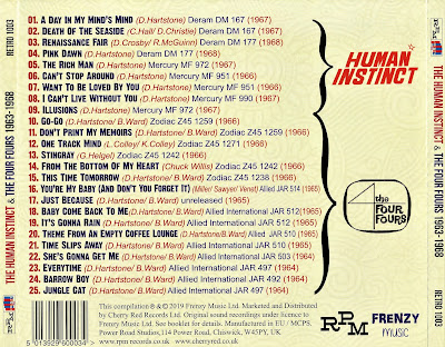 The Human Instinct - The Human Instincts & The Four Fours 1963-1968