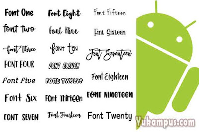download font pack android