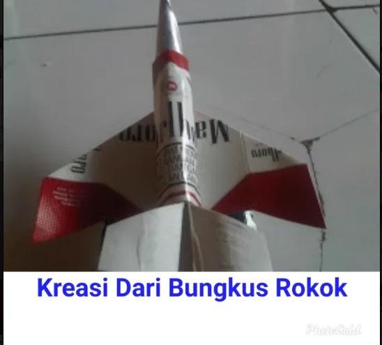 Cara Membuat Pesawat Dari Bungkus Rokok Sederhana Beserta ...