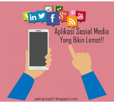 Aplikasi Sosial Media Yang Boros Baterai Dan Bikin Lemot