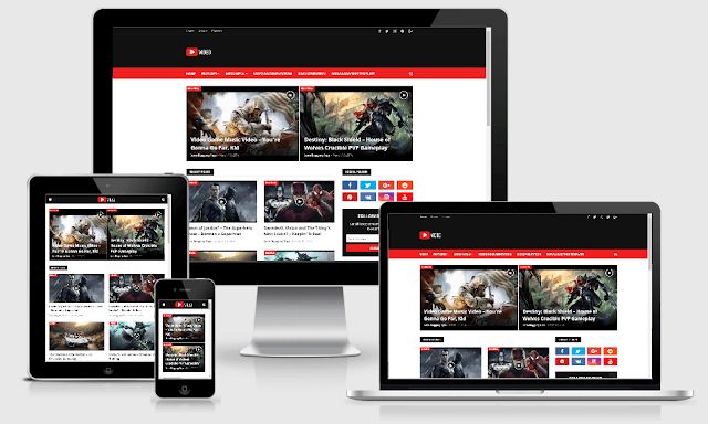 Video Blogger theme Download