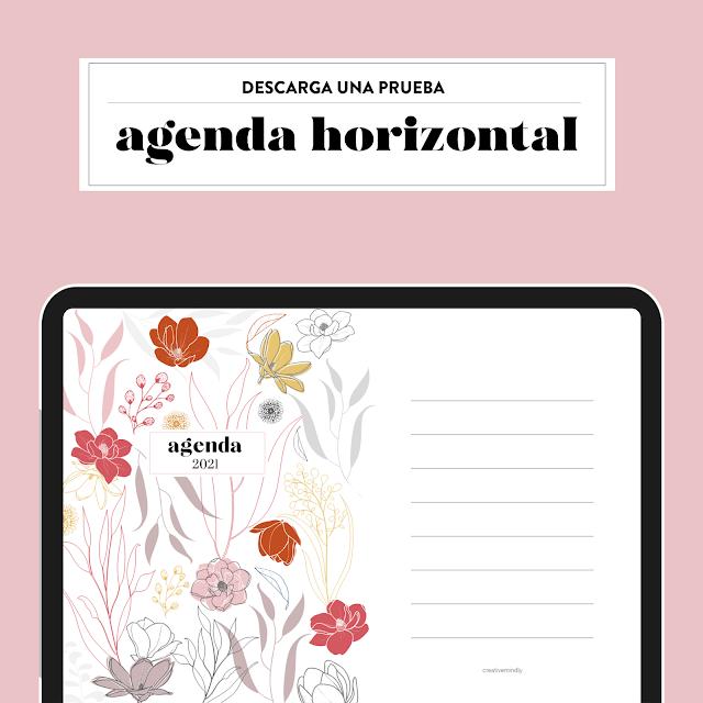 agenda digital bonita gratis ipad 2021