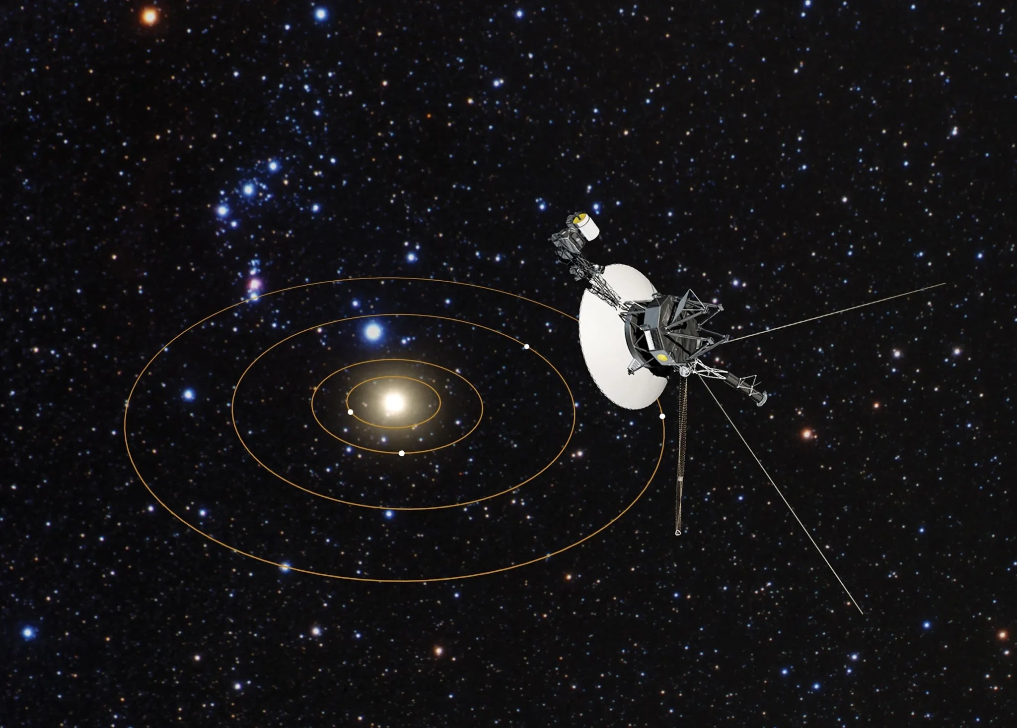 NASA Voyager 1 Has Detected A Mysterious Cosmic 'Hum' In Deep Space