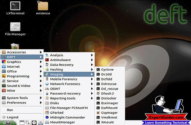 DEFT-Best Operating System-Expertguider.com