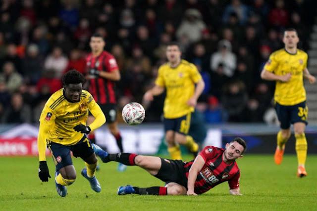 Video Bournemouth 1-2 Arsenal: Phủ đầu hoàn hảo, giật vé vòng 5