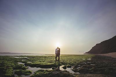 foto indahnya pantai nyang nyang