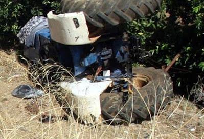 Ζαχάρω Ηλείας: 67χρονος καταπλακώθηκε από το τρακτέρ του