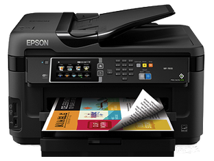 Epson WorkForce WF-7610 Support