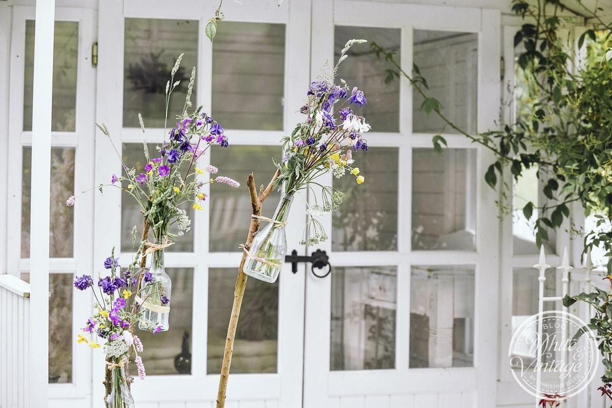 Gartendeko für die Gartenparty einfach selber machen