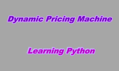 Dynamic Pricing Machine Learning Python