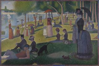 Georges Seurat - Tarde de domingo en la isla de la Grande Jatte