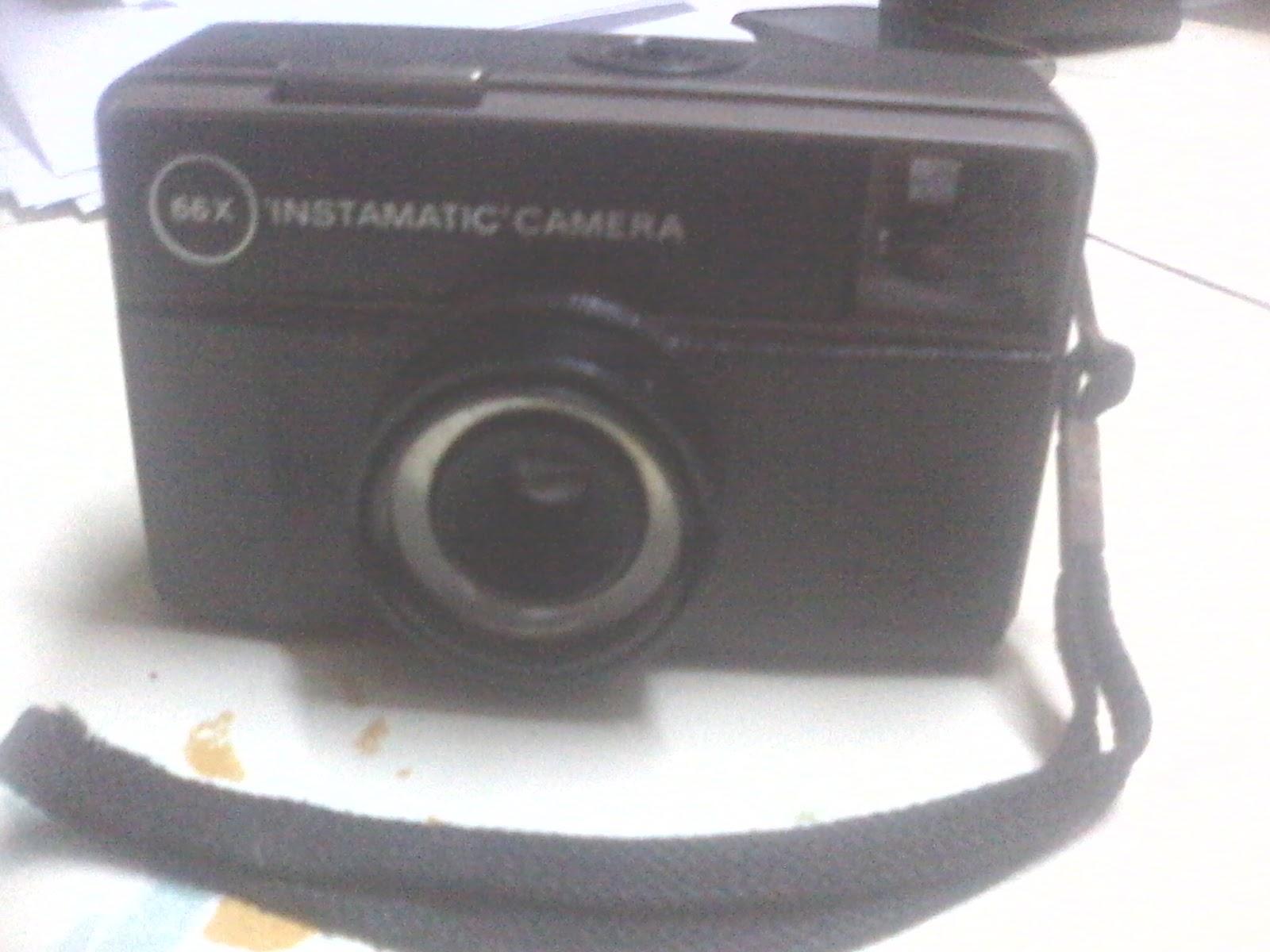 Eat  PRAY  Sleep : Kodak 66x 'Instamatic' Camera