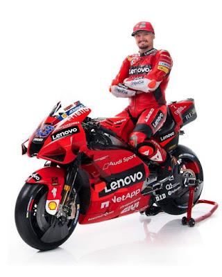 Livery Ducati MotoGP 2021 Jack Miller
