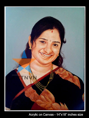 Top Best Professional Oil  Acrylic Canvas Portrait Photo Painting Artist in Hyderabad Telangana INDIA