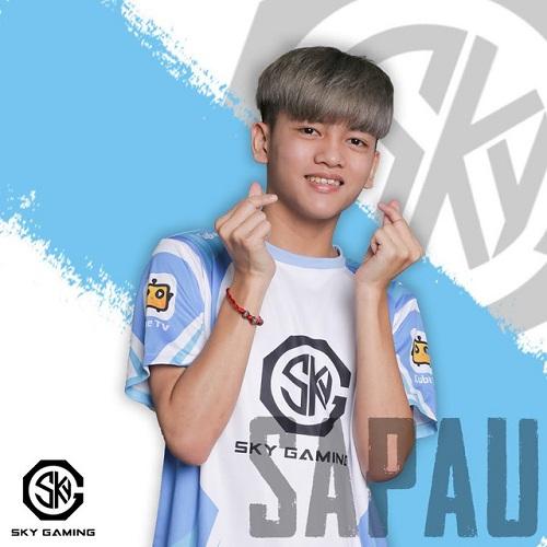 Người chơi Sapauu còn trẻ tuổi dù thế đã có Kinh nghiệm thi đấu rất chi là đa dạng