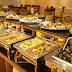 Dụng cụ buffet giá rẻ cho trung tâm hội nghị buffet