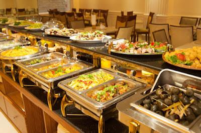 Khay đựng trong nồi buffet