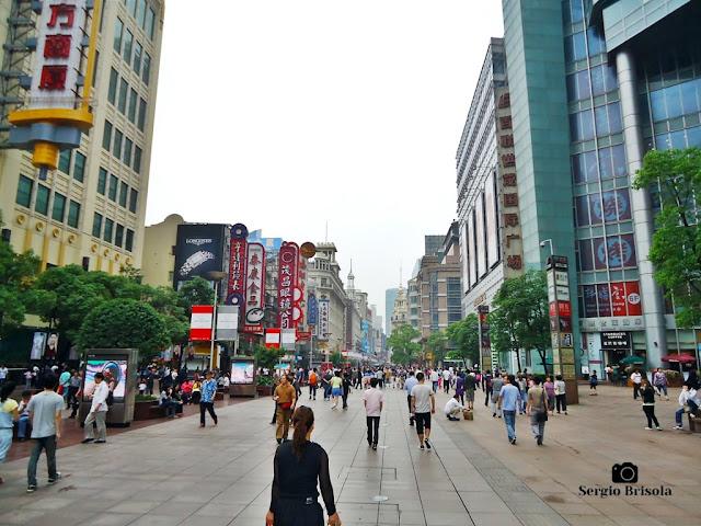 Nanjing Lu (Nanjing East Road - pedestrian sector) - Shanghai