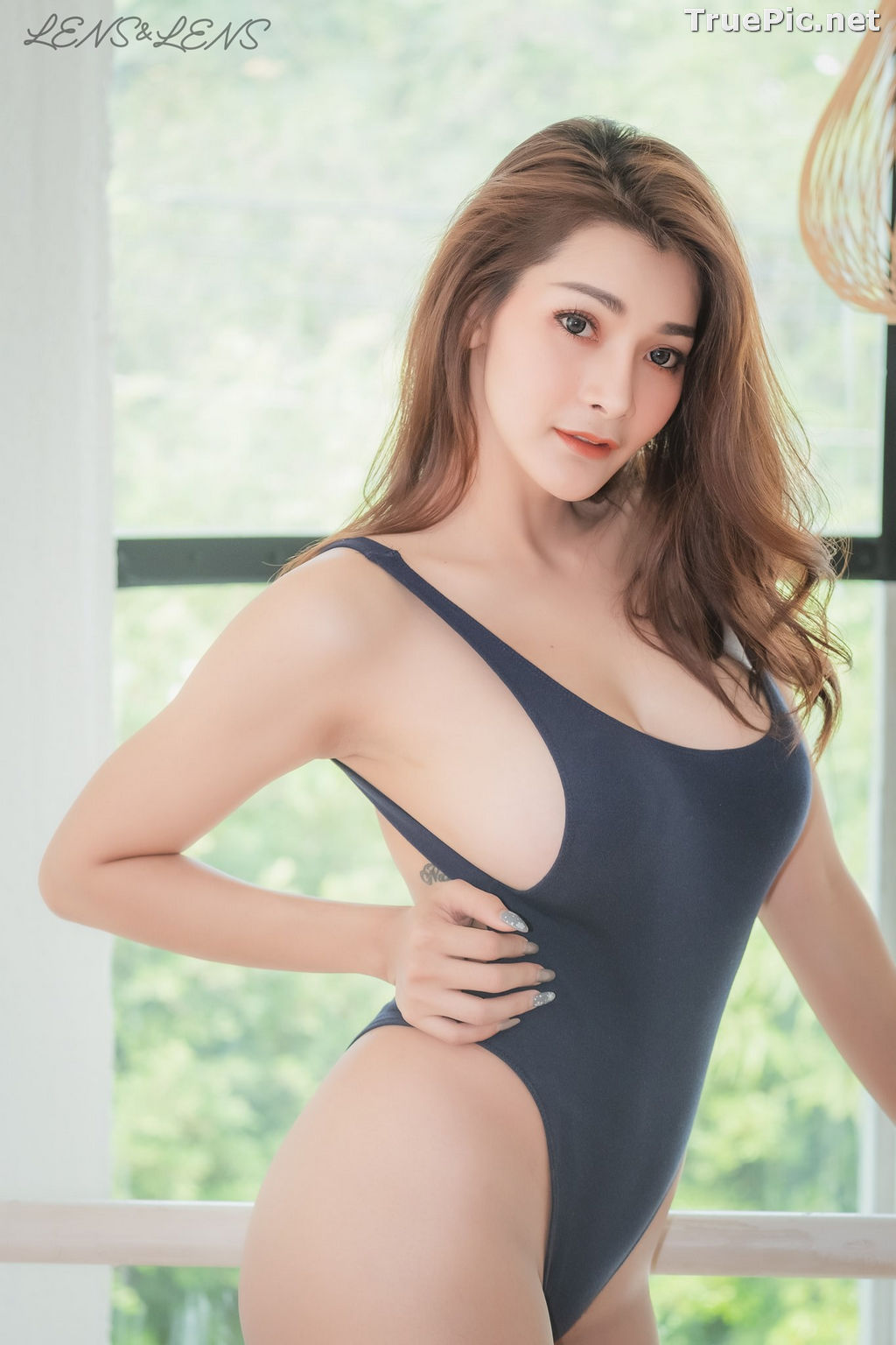 Image Thailand Model - Porntapawee Sripreserth - Concept Sexy One Piece - TruePic.net - Picture-7