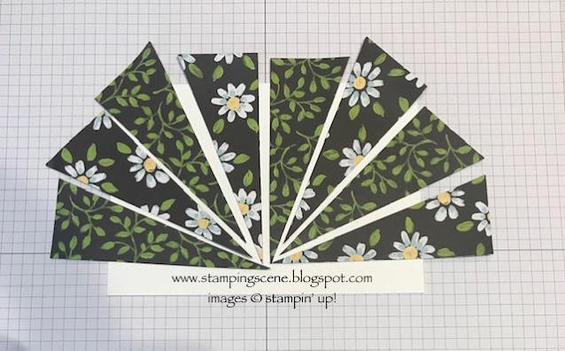 starburst technique for papercraft