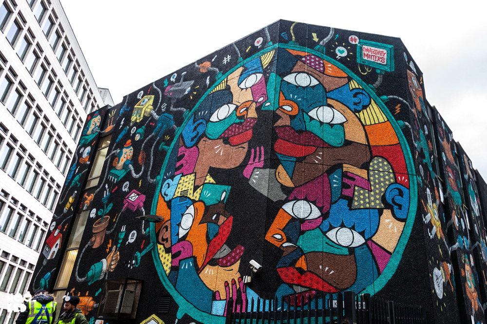 Hunto And Mister Thoms - Shoreditch Street Art