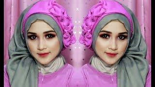 model jilbab pashmina pesta