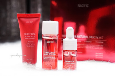 Review Nacific Triple Cica Natural Mucin