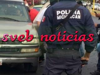 Moto-sicarios ejecutan a hombre frente a su familia en Uruapan Michoacan