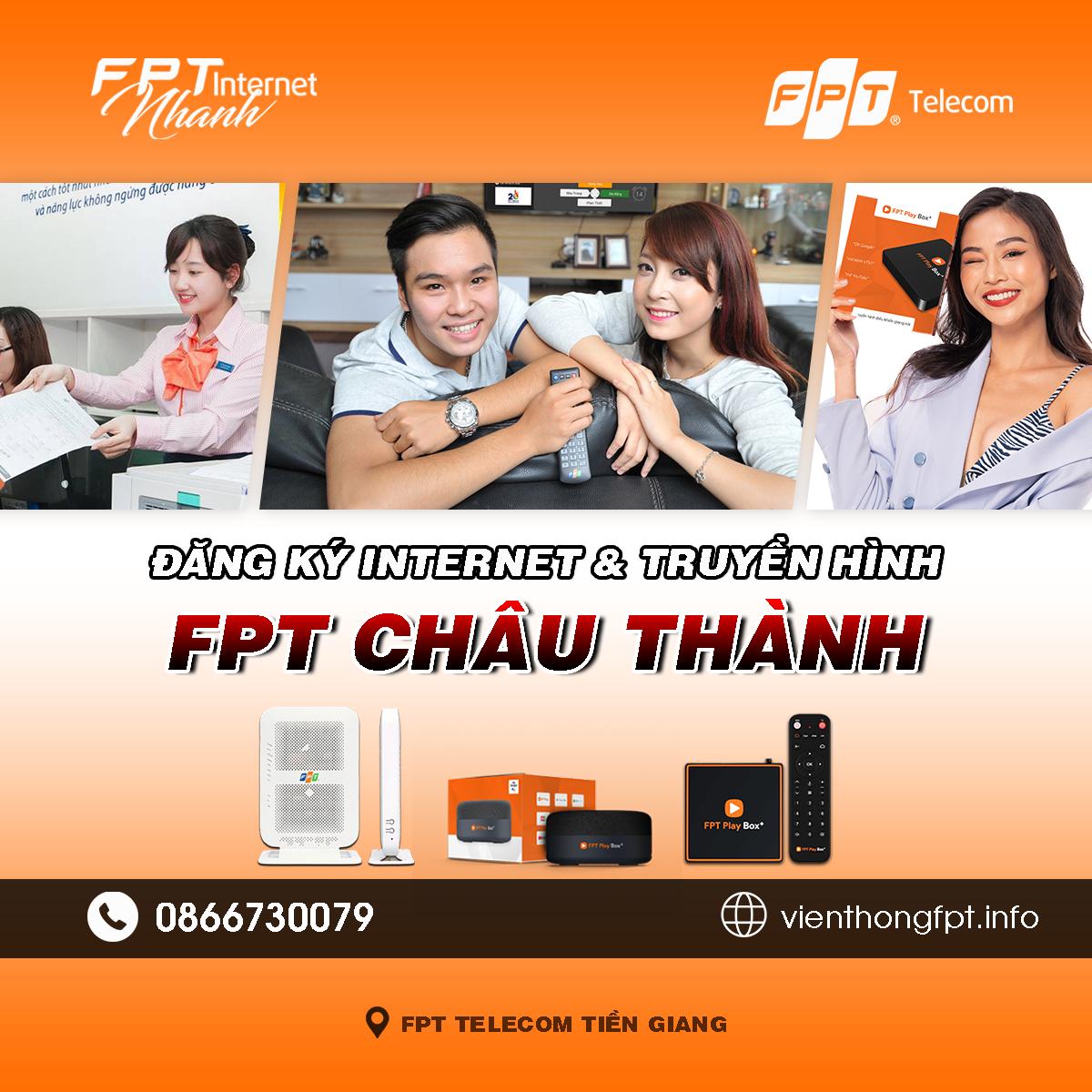 Tổng đài Chi nhánh FPT Châu Thành - Tiền Giang