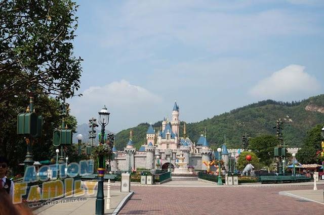 รีวิว Sleeping Beauty Castle - Hong Kong Disneyland 2017