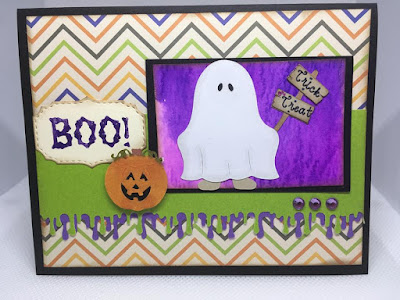 Boo! Ghost Dress-up Card