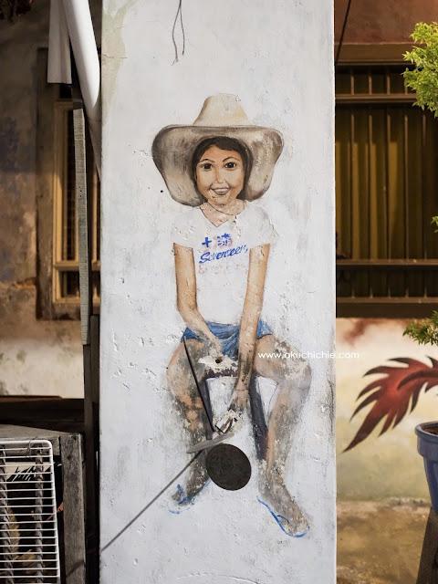 mural di penang