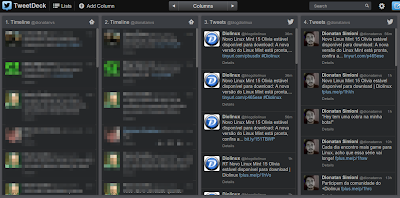 TweetDeck para o Chrome