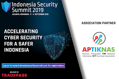 APTIKNAS will support 2nd Annual Indonesia Security Summit 3-4 September 2019