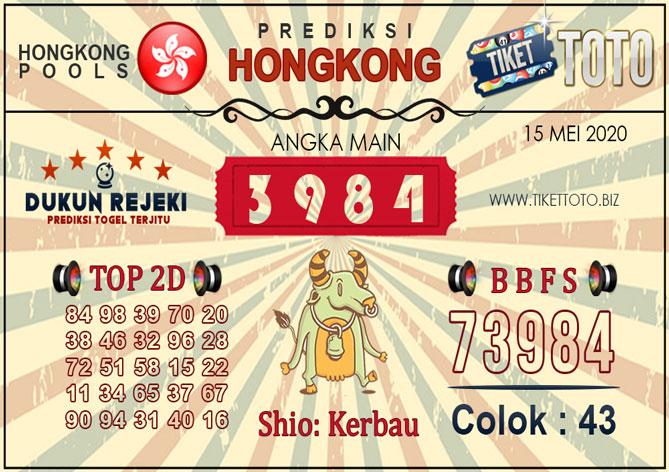 Prediksi Togel HONGKONG TIKETTOTO 15 MEI 2020