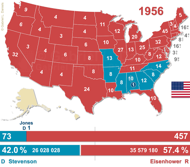 United States of America presidential election of 1956
