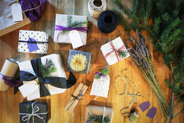 Tips for wrapping all your lavender gifts this holiday season