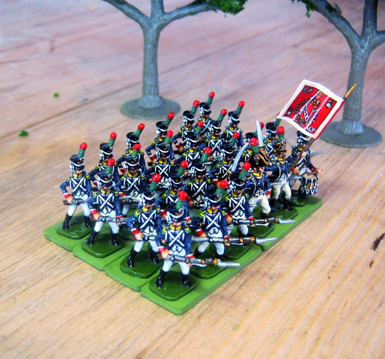 Hinton Hunt French Imperial Guard Voltigeurs