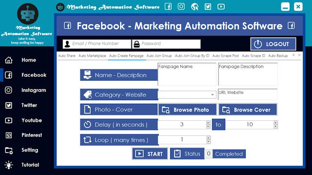 Cara Cepat Membuat Fanspage di Facebook Secara Automatis