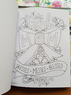 Happy Coloring Mom Coloring Book