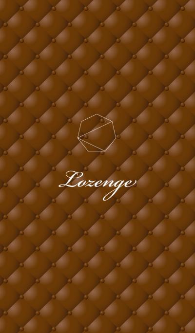Lozenge-Brown