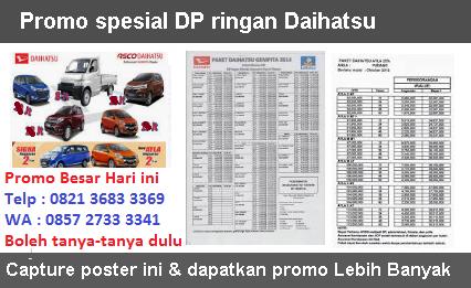 Promo Daihatsu Semarang Dp Ringan Diskon Harga Mobil Sigra Gran Max Xenia