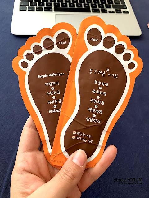limonian mjcare çorap tipi ayak peeling maskesi incelemesi 2