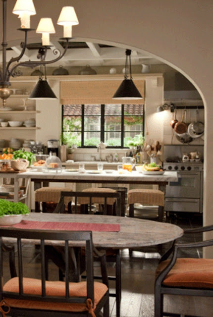 """Image result for """"It's Complicated"""" kitchen and dining - found on Hello Lovely Studio"""